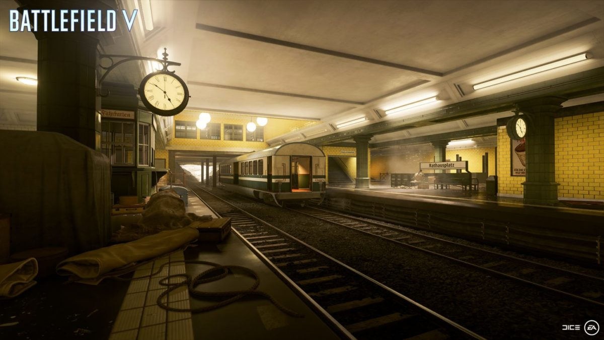 Battlefield V: Metro is back