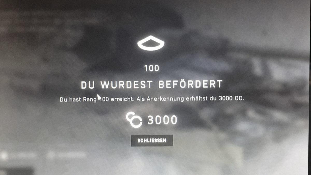 NiceGuy ist level 100