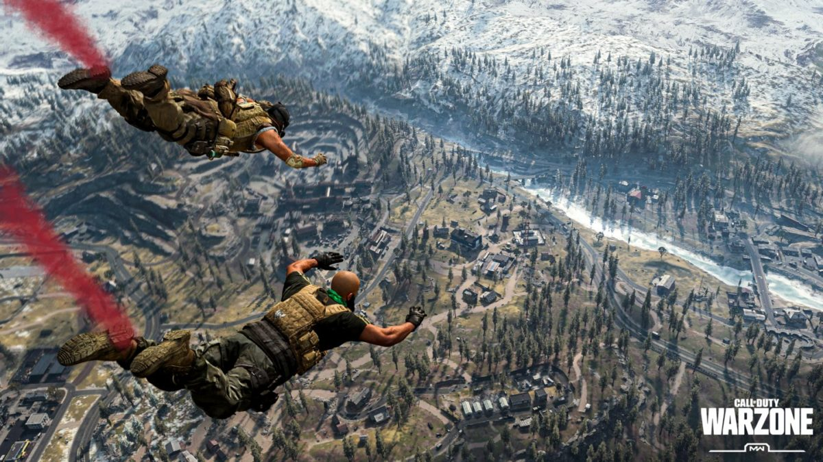 Call of Duty Battle Royale ist hier: Warzone mit 150 Spielern