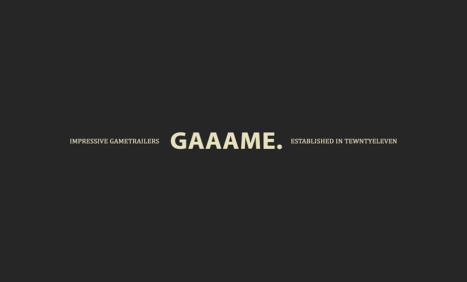 GAAAME is back
